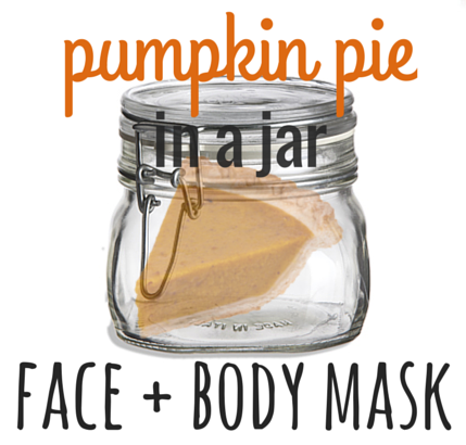 treat yourself to pumpkin pie without the guilt with this delicious face + body mask recipe from say yum #beauty #natural #green #DIY