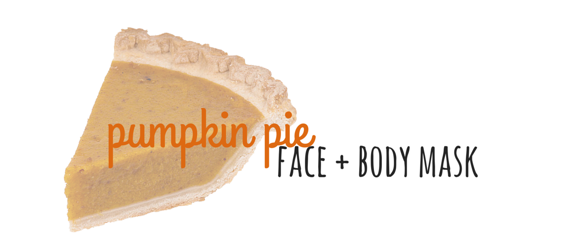 pumpkin pie face mask
