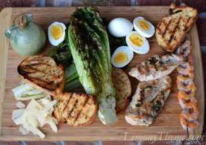 Grilled-Caesar-Salad-with-BBQ-Chicken-Shrimp-curated-say-yum