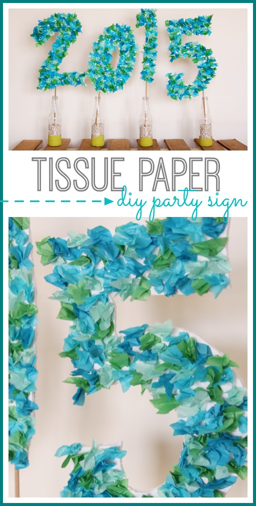 06 jun graduation party tissue paper party sign that you can make yourself diy